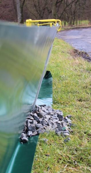 Premium 100 cm Reptilienschutzzaun / Amphibienschutzzaun