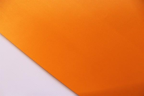 PVC matt ohne Saum und ohne Ösen, orange hell
