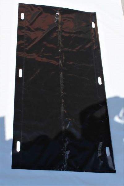 Leichensack/Bergungssack aus PVC mittiger Reißverschluss